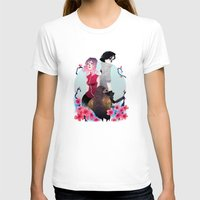 gore T-shirts featuring Glory and Gore go hand and hand by Serena Rocca