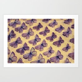 The Butterfly Collection 3 Art Print