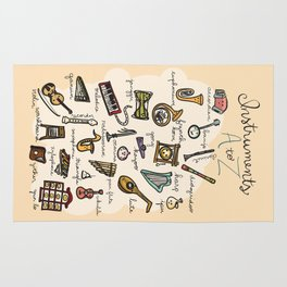 Instruments A to Z Rug