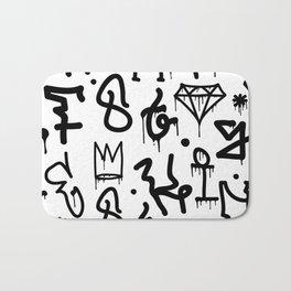 Diamonds & Crowns Bath Mat