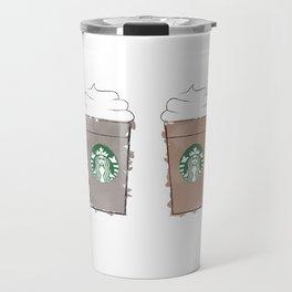 Watercolor Frappuccinos Travel Mug