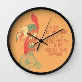 Seguir avanzando Wall Clock