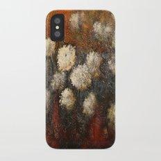 Golden Blossoms Slim Case iPhone X