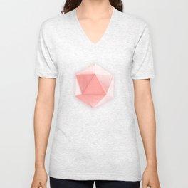 spatial geometry Unisex V-Neck