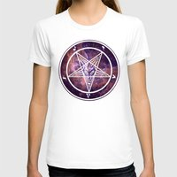 pentagram T-shirts featuring Pentagram Galaxy by Parin Cashmony