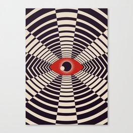 The All Gawking Eye Canvas Print
