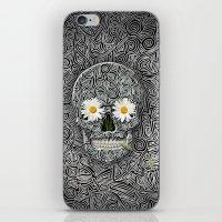 calavera iPhone & iPod Skins featuring Calavera by AkuMimpi