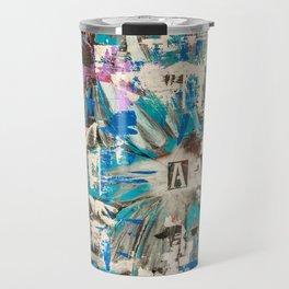 Life through adversity - the flowers of life  Travel Mug