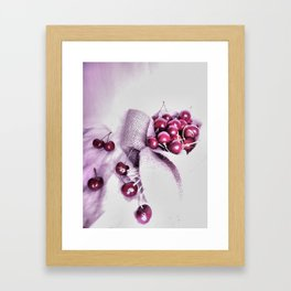 Cherry Harvest Framed Art Print