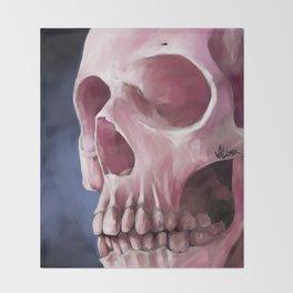 Skull 7 Throw Blanket