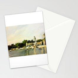 The Lake at Buen Retiro Park Stationery Cards