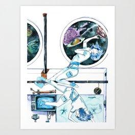 Gemini Journey Art Print