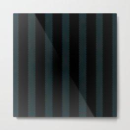 Gothic Stripes IV Metal Print