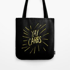 yay carbs Tote Bag