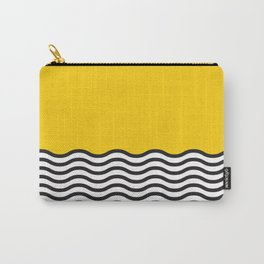 Waves of Yellow Carry-All Pouch