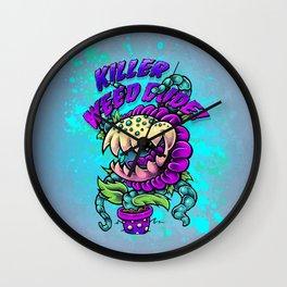 Killer Weed Dude! Wall Clock