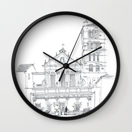 Basilica di Santa Cecilia in Trastevere Wall Clock