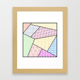 Hatches in Color Framed Art Print