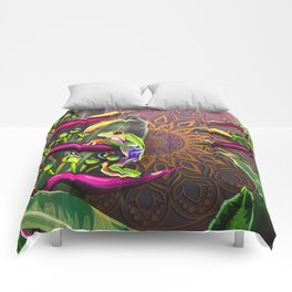 Red Eyed Tree Frog Comforters