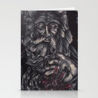 atheist Stationery Cards featuring Jaded Art by Jaded Art    By James Schreck