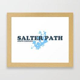 Salter Path - North Carolina. Framed Art Print