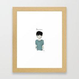S O U L L E S S Framed Art Print