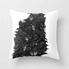 Leave my loneliness unbroken! Throw Pillow