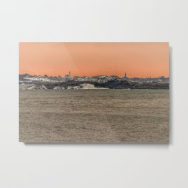 Bakers Island Light from Magnolia Metal Print