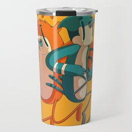 Mordecai & Rigby // Regular Show Travel Mug