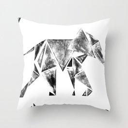 ElephantPower Throw Pillow