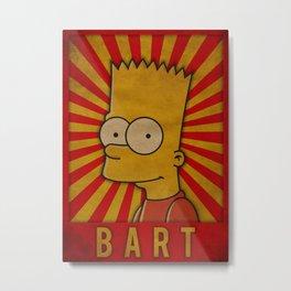Bart Metal Print