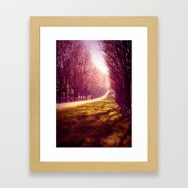 Tendre Printemps Framed Art Print