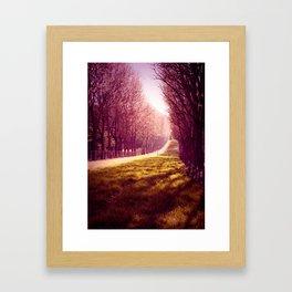Tendre Printemps Framed Art Print