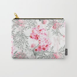 PINK ORCHIDS IN SPRING BLOOM Carry-All Pouch