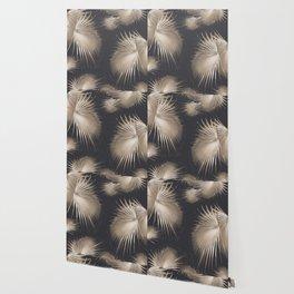 Fan Palm Leaves Paradise #5 #tropical #decor #art #society6 Wallpaper
