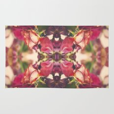 Sunset of Roses Rug