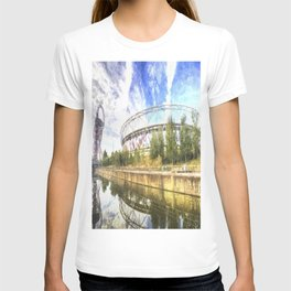 West Ham Olympic Stadium And The Arcelormittal Orbit Art T-shirt