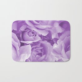Violet Rose Bouquet For You - Valentine's Day #decor #society6 #homedecor Bath Mat