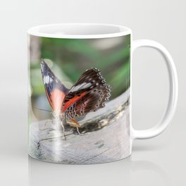 Red Lacewing Butterfly Coffee Mug