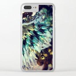 Sea Anemone Clear iPhone Case