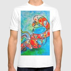 Water Souls Mens Fitted Tee White MEDIUM