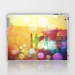Old School Dawn Patrol Surf Laptop & iPad Skin