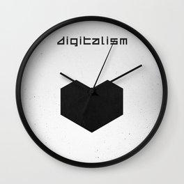 Digitalism Wall Clock