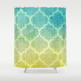 Moroccan Inspiration Shower Curtain