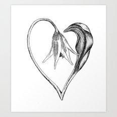 Flower of the Heart Art Print