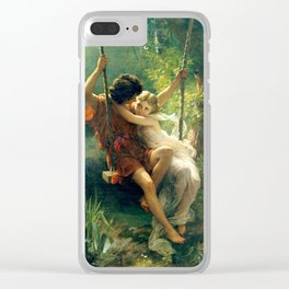 Spring by Pierre Auguste Cot Clear iPhone Case
