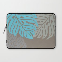 Hawaiian leaves pattern N0 2, Art Print collection, illustration original pop art graphic print Laptop Sleeve
