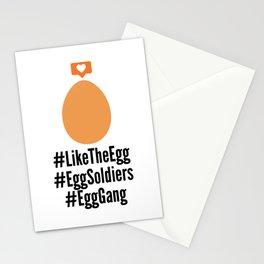Instagram Egg Likes Photo Hashtags Stationery Cards