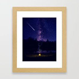 Summer Night Framed Art Print
