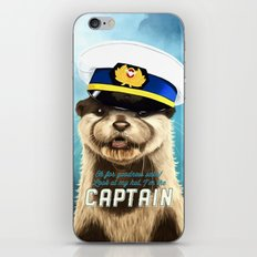 Captain Otter iPhone Skin